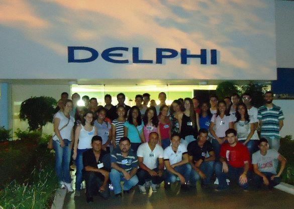 06/03/2014 – Alunos de Engenharia de Produção visitam a Delphi