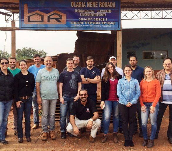 13/07/2015 – Fatep realiza visita técnica com alunos de Especialização em Engenharia de Segurança