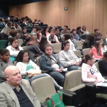11/06/2015 - FATEP PARTICIPA DE FEIRA DE PROFISSÕES NA ETEC DEPUTADO ARY DE CAMARGO PEDROSO - FOTO 1