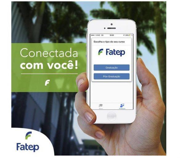 13-09-2016-Fatep lança aplicativo para interagir com alunos e professores