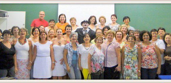 05/08/2013 – Elaine Curiacos ministra aula inaugural da Faculdade da Terceira Idade da Fatep