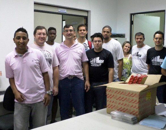 10/11/2014 – GALERIA – Aferitec recebe alunos de Gestão da Qualidade e Produção Industrial da Fatep