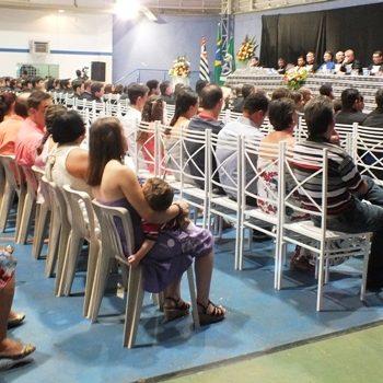 18/02/2014 - FATEP REALIZA COLAÇÃO DE GRAU DE 135 ALUNOS - FOTO 3