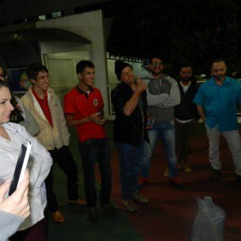 16-06-2016-ALUNOS PARTICIPAM DO DESAFIO PONTE DE MACARRÃO DA FATEP - FOTO 14