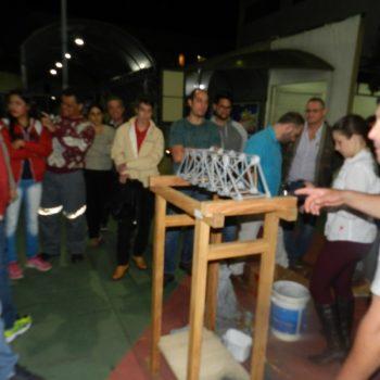 16-06-2016-ALUNOS PARTICIPAM DO DESAFIO PONTE DE MACARRÃO DA FATEP - FOTO 21