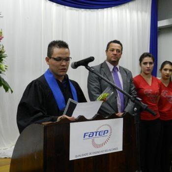 17/07/2015 - FATEP FORMA 12ª TURMA DO CURSO DE TECNOLOGIA EM GESTÃO DA PRODUÇÃO INDUSTRIAL - FOTO 3