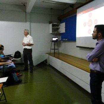 17/09/2015 - GALERIA - ALUNOS DE LOGÍSTICA PARTICIPAM DE PALESTRA NA FATEP - FOTO 2