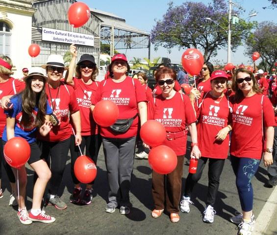 02/10/2013 – Fatep participa de 3ª Caminhada entre Gerações