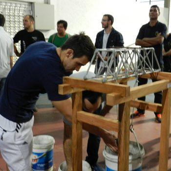 26-11-2015-ALUNOS DE ENGENHARIA CIVIL DA FATEP ENFRENTAM O DESAFIO PONTE DE MACARRÃO - FOTO 26