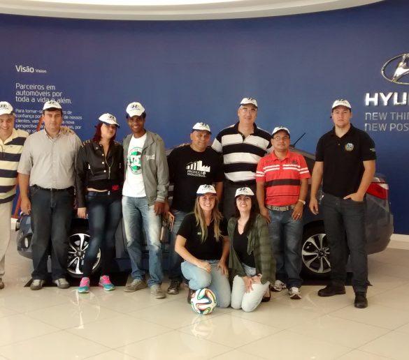 18/06/2014 – Alunos de Logística, Gestão da Produção e Engenharia conhecem fábrica da Hyundai em Piracicaba