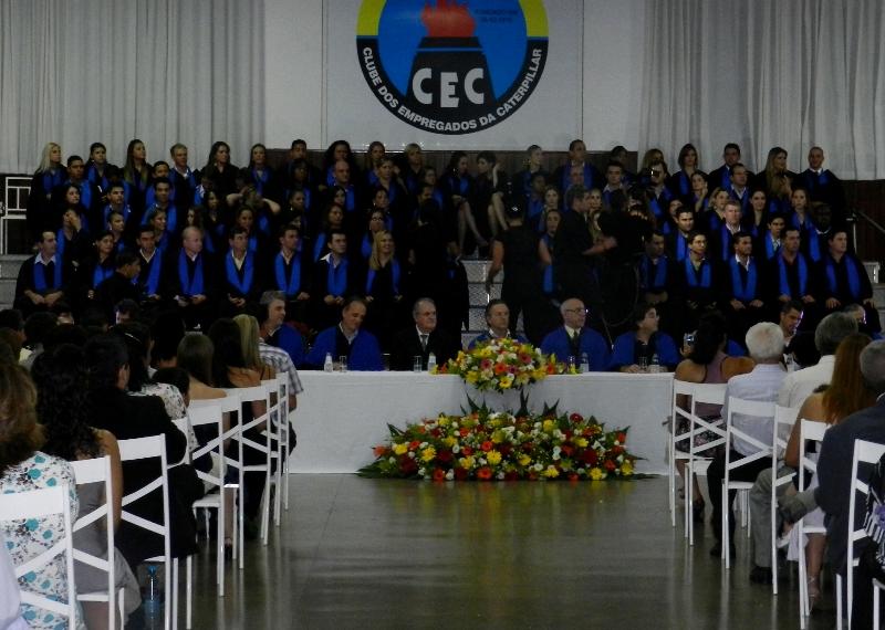 Formandos da Fatep receberam diplomas em sessão solene
