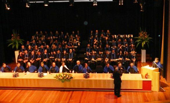 09/03/2015 – Fatep realiza colação de grau de 116 alunos