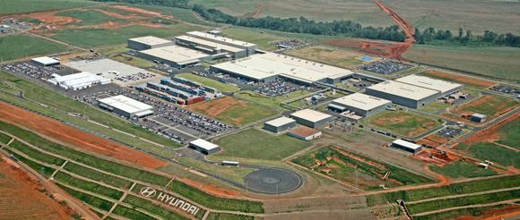 26/04/2016- Alunos da Fatep conhecerão processos industriais da Hyundai