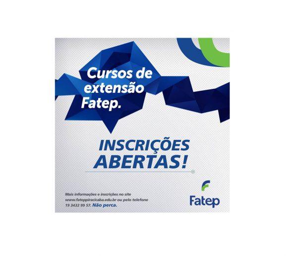 20-09-2016-Fatep oferece 300 vagas em cursos de extensão com curta duração