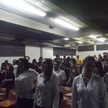 21/05/2013 - ALUNOS DE RH MINISTRAM TREINAMENTO AOS CALOUROS DE PRODUÇÃO INDUSTRIAL - FOTO 10