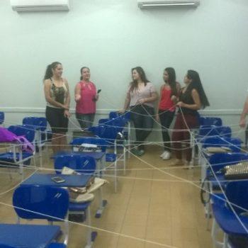 15-02-2016-DINÂMICAS COM ESTUDANTES MARCAM INÍCIO DAS AULAS NA FATEP - FOTO 1