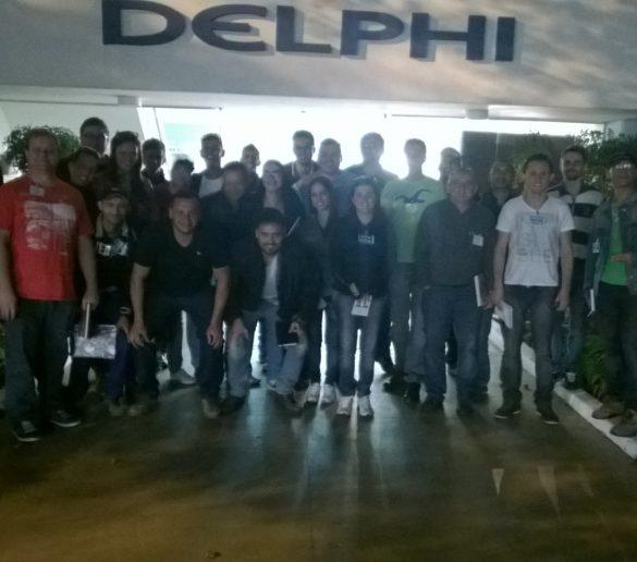 01/06/2015 – GALERIA – Alunos da Fatep visitam Delphi