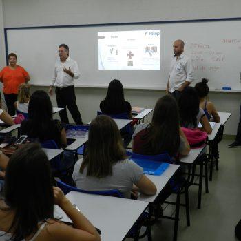 Foto 2 - Início das aulas na Fatep - Faculdade de Tecnologia de Piracicaba [Crédito - Engenho da Notícia Assessoria de Imprensa]