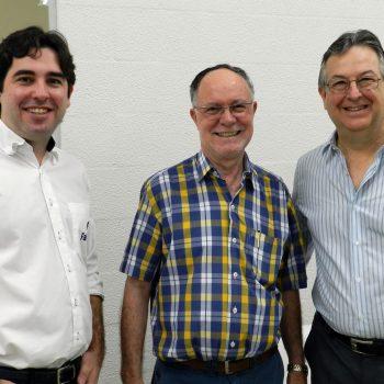 Foto Fatep Piracicaba - Marcos Frateschi de Lima, Barjas Negri e Marcos Antonio de Lima