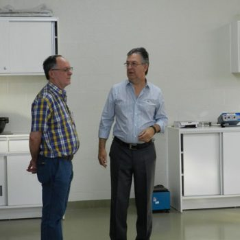Recepcionado pela Direção da Fatep, o prefeito Barjas Negri conheceu as instalações do novo campus da Fatep