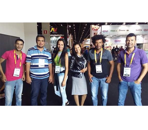 Alunos da Engenharia Civil da Fatep conferiram as novidades da Feicon