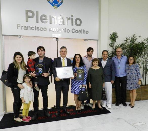 COBERTURA FOTOGRÁFICA  – Fatep recebe homenagem da Câmara de Vereadores