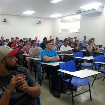 Alunos da Fatep participam do primeiro dia de aula - 2018