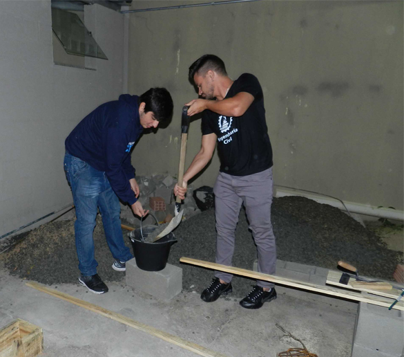 Engenharia Civil – Alunos da Fatep enfrentam a realidade de processos com construção de maquetes em escalas reais