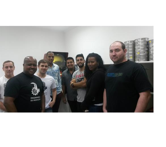 Alunos da Fatep fazem visita técnica na  empresa Aferitec