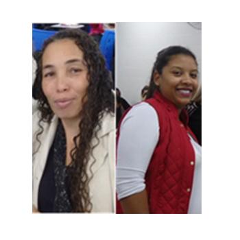 F6 - Juceliane Rodrigues e Talita Esteves, estudantes da Fatep