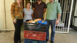 Fatep entrega alimentos e agasalhos para entidades sociais de Piracicaba