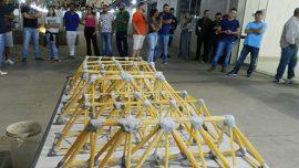 Alunos do curso de Engenharia Civil da Fatep participam do Desafio Ponte de Macarrão