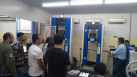 Visita técnica na Labteste reforça conhecimento de alunos da Fatep