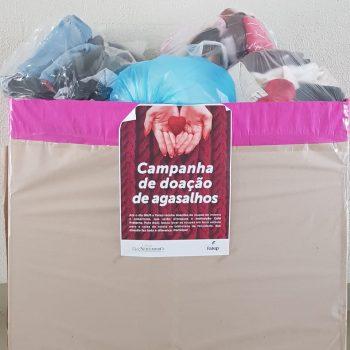 Foto 6 - Entrega Campanha do Agasalho Fatep Piracicaba