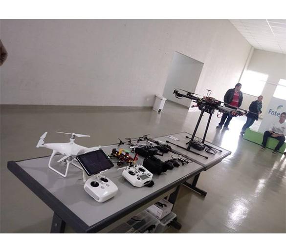 Fatep abre inscrições para curso sobre pilotagem e design de drone