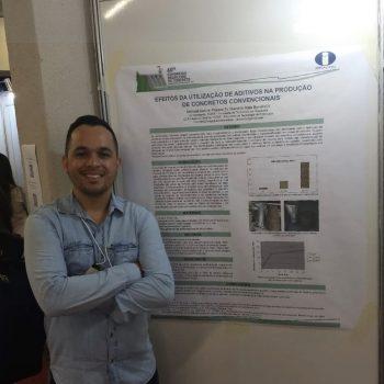 Foto 3 - Abimael Avelino Passos, aluno do 7º semestre de Engenharia Civil da Fatep