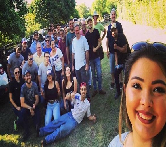 Turma de Engenharia Agronômica visita propriedade referência em mirtilos